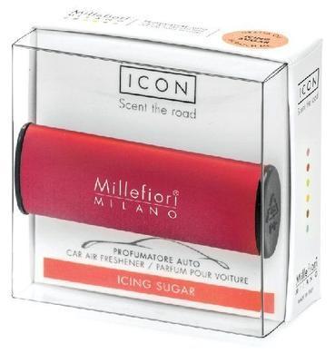 Vůně do auta ICON CLASSIC Icing Sugar - Red, Millefiori - 2