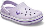 Boty CROCBAND CLOG KIDS  lavender/neon purple, Crocs - 2/6