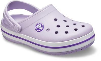 Boty CROCBAND CLOG KIDS  lavender/neon purple, Crocs - 2