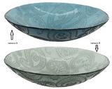 Dekorativní mísa, 40x10cm, 2 druhy, recyklované sklo, Kaemingk - 2/4