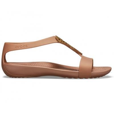 Sandály SERENA EMBELLISH SNDL W10 bronze/bronze, Crocs - 2