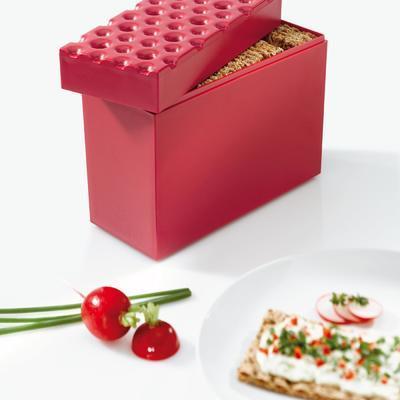 Zásobník na krekry BROD - malinová, Koziol - 2