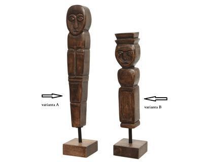 Socha, mangové dřevo, 32cm, Kaemingk - 2