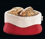 Košík na pečivo - červený 13x21,5 cm, Cilio - 2/2