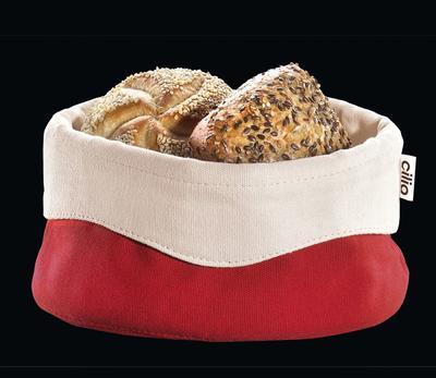 Košík na pečivo - červený 13x21,5 cm, Cilio - 2