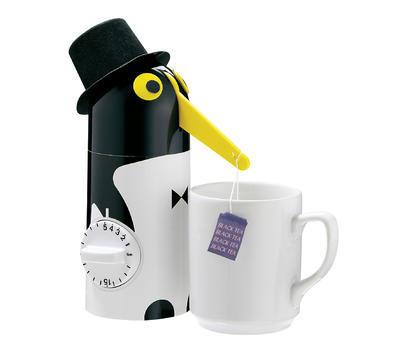 Minutka s vytáhnutím čaje TEA-BOY Tučňák 21 cm, Küchenprofi - 2