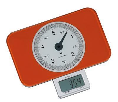 Digitální váha SCALE oranžová, Zassenhaus - 2