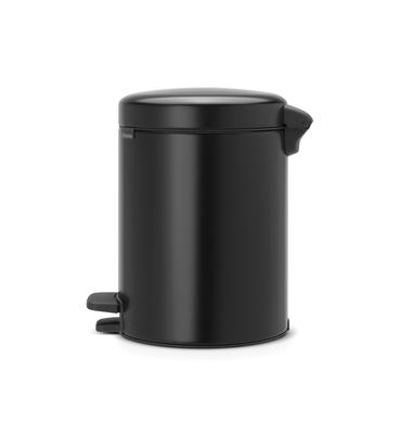 Pedálový koš Newlcon 5l, matná černá, Brabantia  - 2