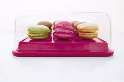 """Box na potraviny """"M"""" 22x16x7,5 cm - berry, Zak! - 2"""