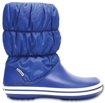 Dámské nepromokavé zimní boty PUFF BOTS, jeans, vel. 41, Crocs - 2