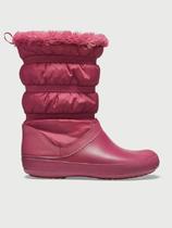 Dámské nepromokavé zimní boty WINTER BOOT, červené, vel. 35-36, Crocs - 2/2