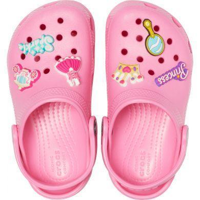 Dětské boty CLASSIC CHARM Clog K Pink Lemonade vel. 32-33, Crocs - 2
