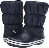 Dámské nepromokavé zimní boty PUFF BOTS, modré, vel. 41, Crocs  - 2/2