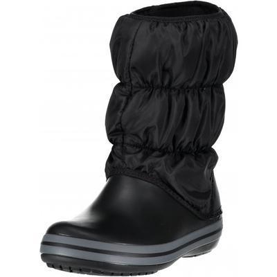 Dámské nepromokavé zimní boty PUFF BOTS, černé, vel. 38-39, Crocs - 2