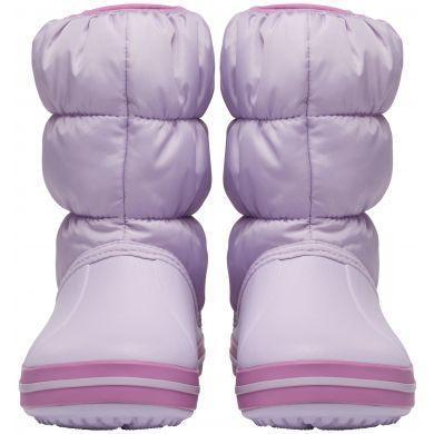 Dětské zimní boty WINTER PUFF Boot Kids-Navy/Red, vel. 33-34, Crocs  - 2