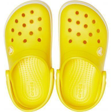 Dětské boty CROCBAND Clog Yellow/White vel. 27-28, Crocs - 2