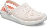 Boty LITERIDE CLOG M9/W11 barely pink/white, Crocs - 2/6