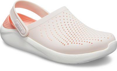 Boty LITERIDE CLOG M8/W10 barely pink/white, Crocs - 2