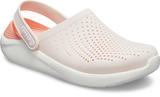 Boty LITERIDE CLOG M8/W10 barely pink/white, Crocs - 2/6