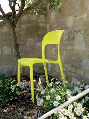 Židle bez područek GIPSY - lime yellow, Bontempi - 2