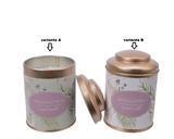 Vonná svíčka v dóze, lila/ zelená, 8x11cm, Kaemingk - 2/2