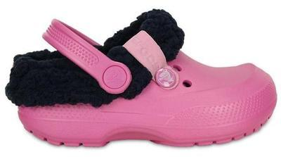 Boty BLITZEN II CLOG KIDS J2 party pink/nautical navy, Crocs - 2