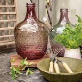 Váza z recyklovaného skla, 2 assort, růžová, Kaemingk   - 2/2