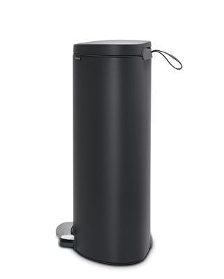 Pedálový koš FlatBack + Silent 30l, minerální tmavě šedá , Brabantia    - 2