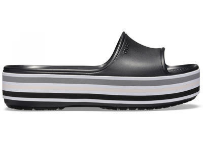 Pantofle CB PLATFORM BLD COLOR SLIDE M6/W8 black, Crocs - 2