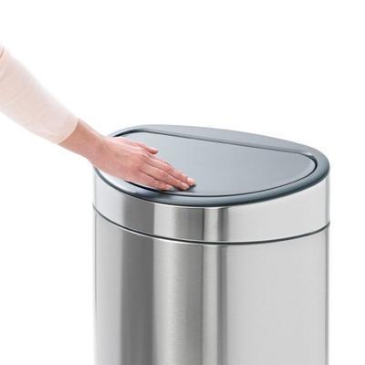 Koš odpadkový TOUCH BIN NEW 40 l - matná ocel, Brabantia - 2