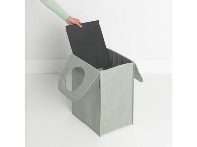 Taška na prádlo 55 l - zelený melír, Brabantia      - 2