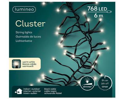 LED svetělný řetěz 6m, teplá bílá, venkovní, Kaemingk - 2