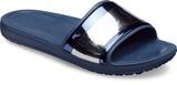 Pantofle SLOANE METALBLOCK SLD W11 multi navy/navy, Crocs - 2/5