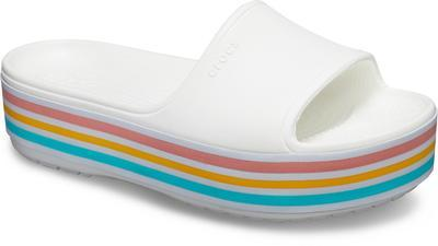 Pantofle CB PLATFORM BLD COLOR SLIDE M4/W6 white, Crocs - 2