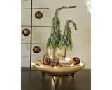 Mini stromeček - zasněžený, 13x13x50cm, zeleno/bílý - 2/2