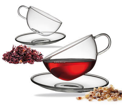 Set 2ks - Šálek a podšálek na čaj ASSAM TEA 250 ml, Küchenprofi - 2