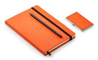 Dárkový set - vizitkář, zápisník a tužka NOTES, Philippi  - 2