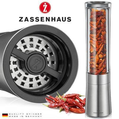 Mlýnek chilli DIABOLO 18 cm - akryl/nerez, Zassenhaus - 2