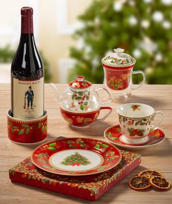 Vánoční talíř hluboký HAPPY DAYS 22 cm, Palais Royal - 2