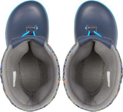 Dětské zimní boty CROCBAND LodgePoint Graphic K - Slate Grey/Navy, vel. 30-31, Crocs - 2