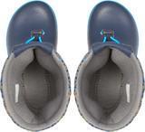 Dětské zimní boty CROCBAND LodgePoint Graphic K - Slate Grey/Navy, vel. 32-33, Crocs - 2/3
