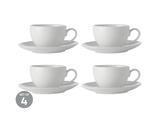 Espresso šálek s podšálkem, 100 ml, WHITE BASIC, Maxwell and Williams - 2/2