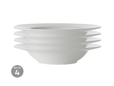 Talíř na polévku 23 cm, WHITE BASIC, Maxwell and Williams - 2