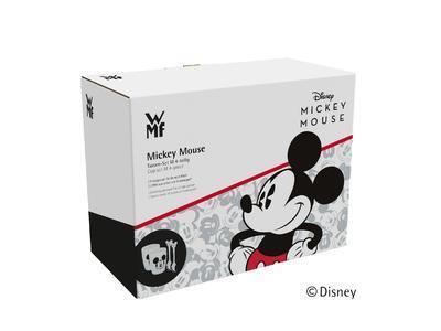 Sada 2poháry, 2lžičky Mickey, WMF - 2