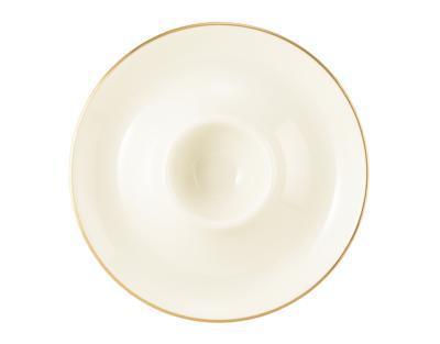 Talířek na vajíčko 12,5cm MEDINA GOLD, Seltmann Weiden - 2