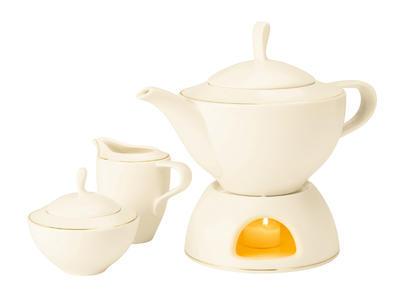 Ohřívač na čajovou konvici MEDINA GOLD, Seltmann Weiden - 2