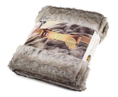 Kožešinová deka  150x200, vzor medvěd KODIAK, Gözze - 2