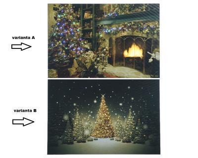 LED svítící obrazy, 2 druhy, Kaemingk - 2