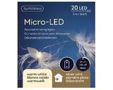 Micro LED girlanda s andělíčky, 200cm-20xLED, Kaemingk - 2/2