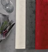 Vánoční ubrus COSMO 150x250 - červený, Sander - 2/3